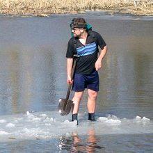 Как я плавал на льдине